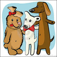 Cartoon-funny-dog-friends-23293084